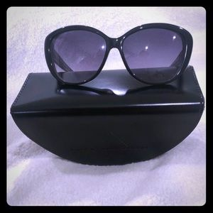 Marc by Marc Jacobs Black Cat Eye Sunglasses